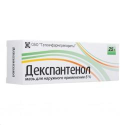 Декспантенол, мазь д/наружн. прим. 5% 25 г №1 туба