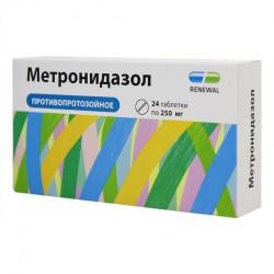 Метронидазол, RENEWAL табл. 250 мг №24