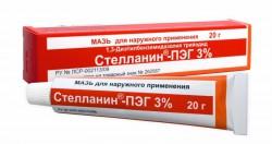 Стелланин-ПЭГ, мазь д/наружн. прим. 3% 20 г туба